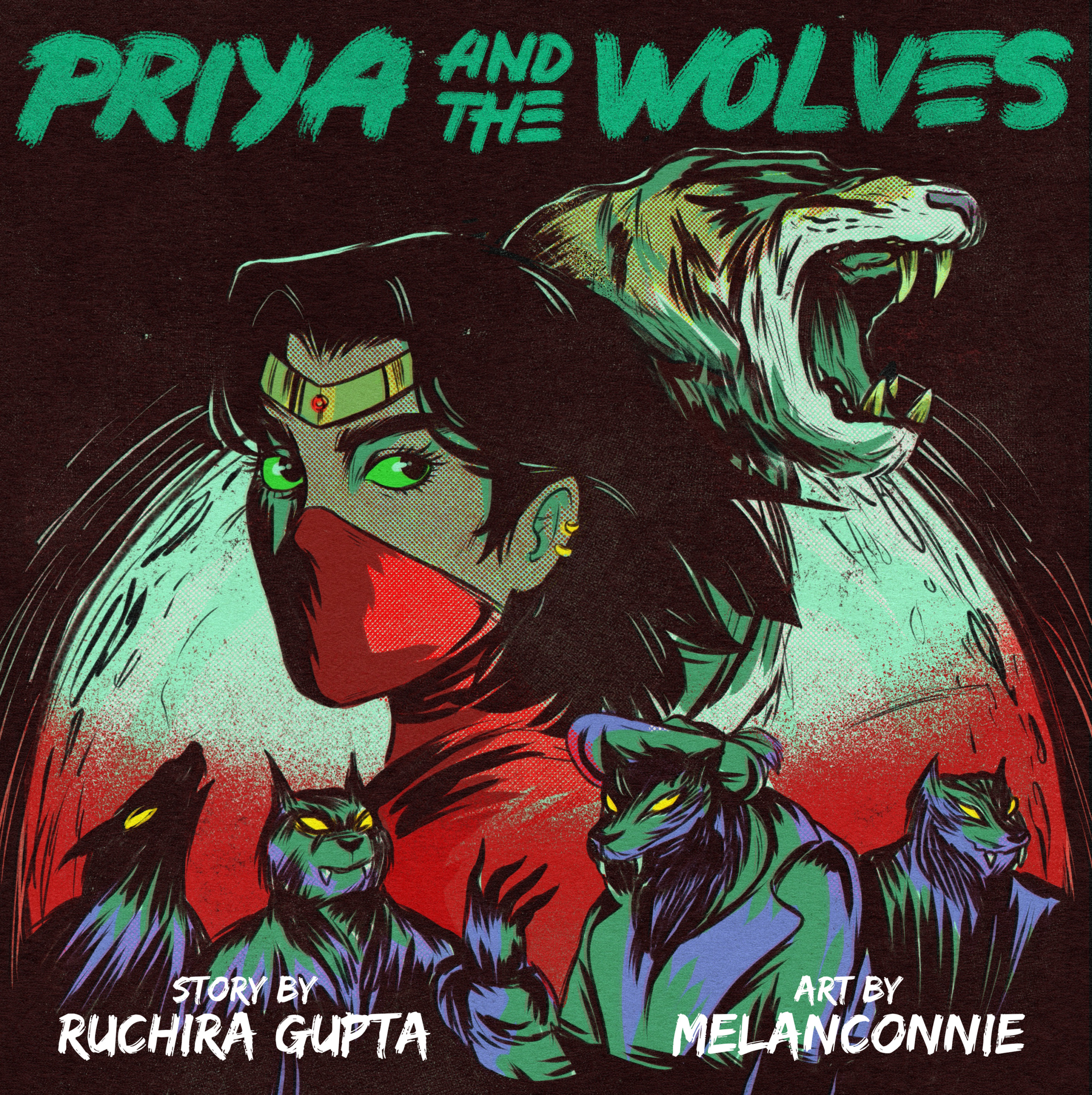 Priya and the wolves cover image